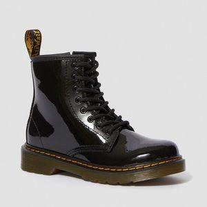 Dr. Marten Juniors 1460 Patent Leather Boots